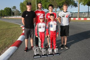 Birel winners from the Florida Winter Tour