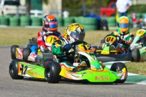 Cadet rookie Sam Mayer already has a victory in 2013, looking to add more at the USPKS (Photo: NCRM)
