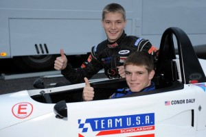 Daly and Newgarden each scored victory in Formula Ford action in Europe (Photo: teamusascholarship.org)