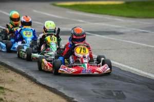 Malukas leads Gangi, Bromante and Lemke in Yamaha Man Cup action at South Bend (Photo: NCRM)