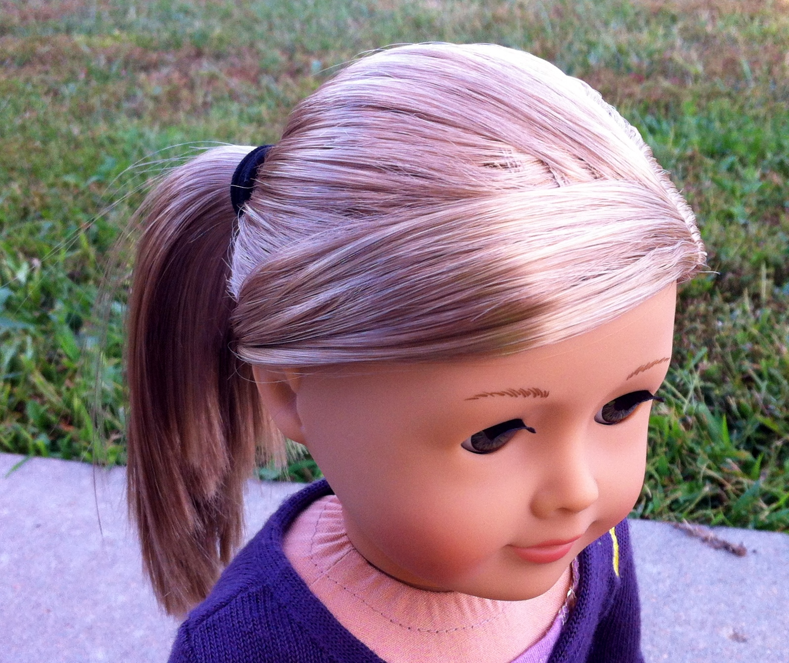 hairstyle: isabelle's bangs | small dolls in a big world
