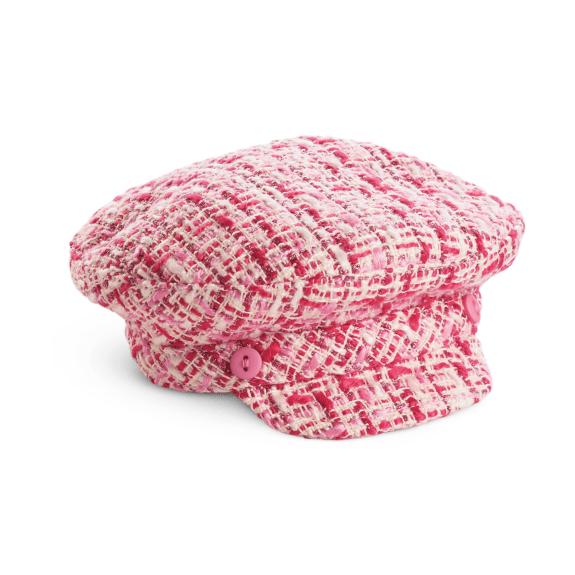 Tweed Driver's Cap