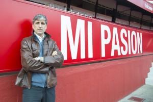 Pablo Alfaro siente en clave sevillista |Imagen: Ismael Molina