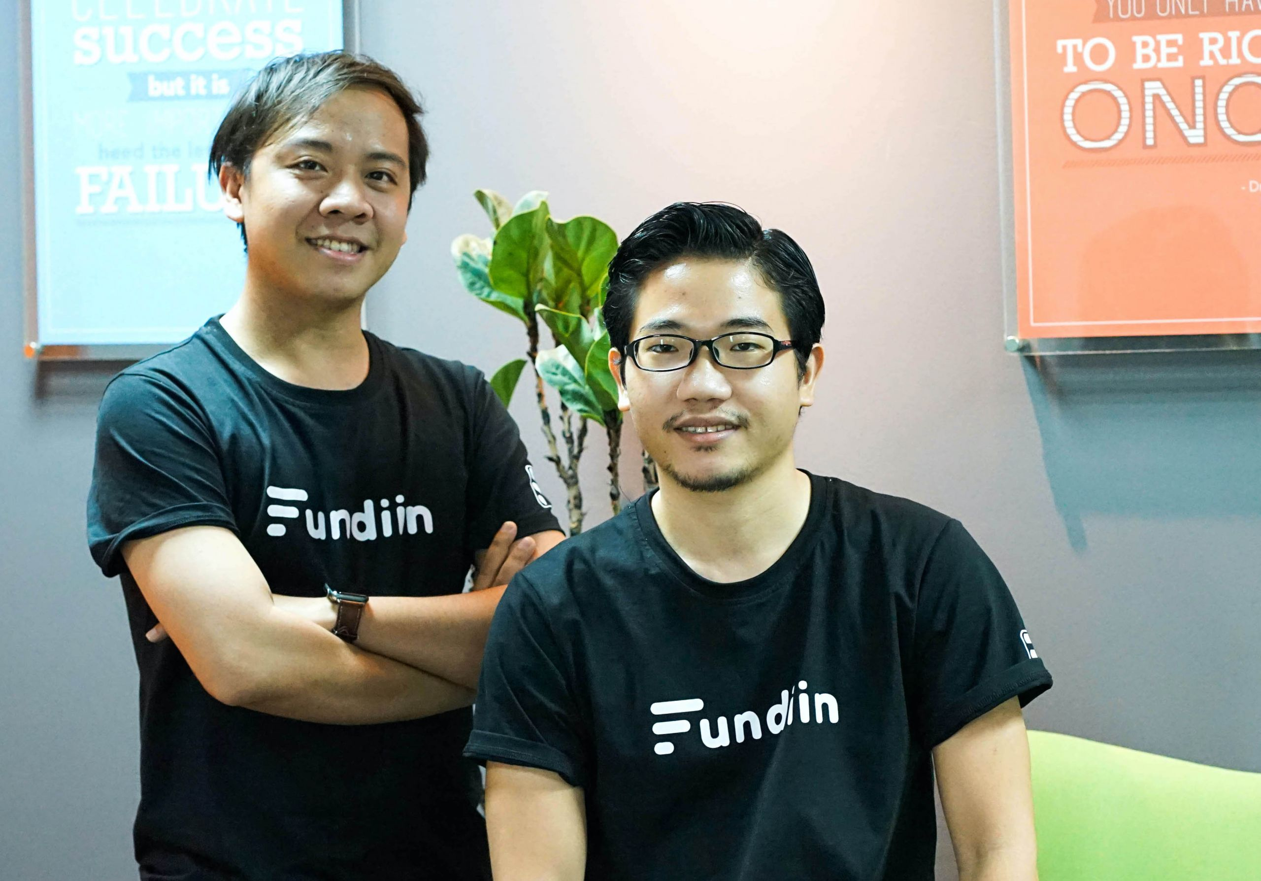 From Left: Fundiin CTO, Vo Hoang Nam (formerly TP Bank, VNG, Momo) and CEO, Nguyen Anh Cuong (formerly VNHAM).