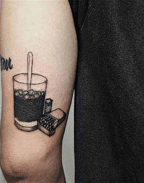 Vietnamese Coffee Tattoo