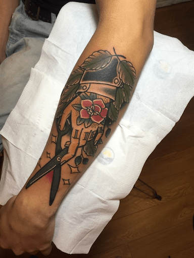 Not just a tattoo studio – here we're creating art