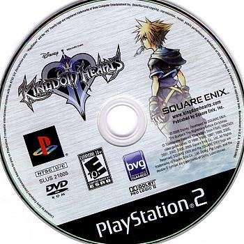 Kingdom Hearts II USA ISO