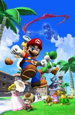 Super Mario Sunshine poster