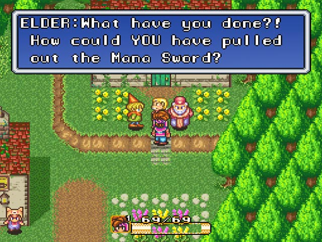 Secret Of Mana USA ROM