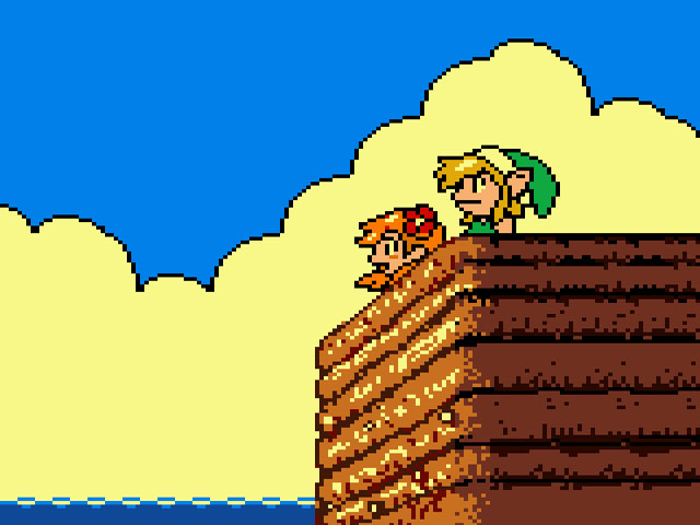 Legend Of Zelda The Links Awakening DX USA Europe ROM