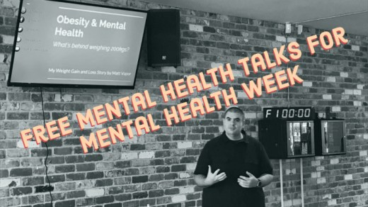 Mental Health Talks for Mental Health Week