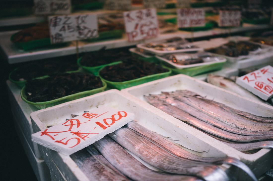 The freshest fish.