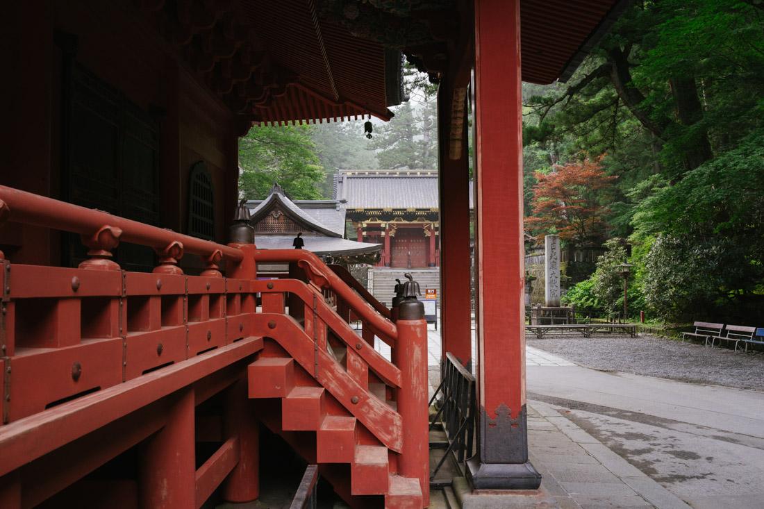 Surrounding temples of Futarasan.