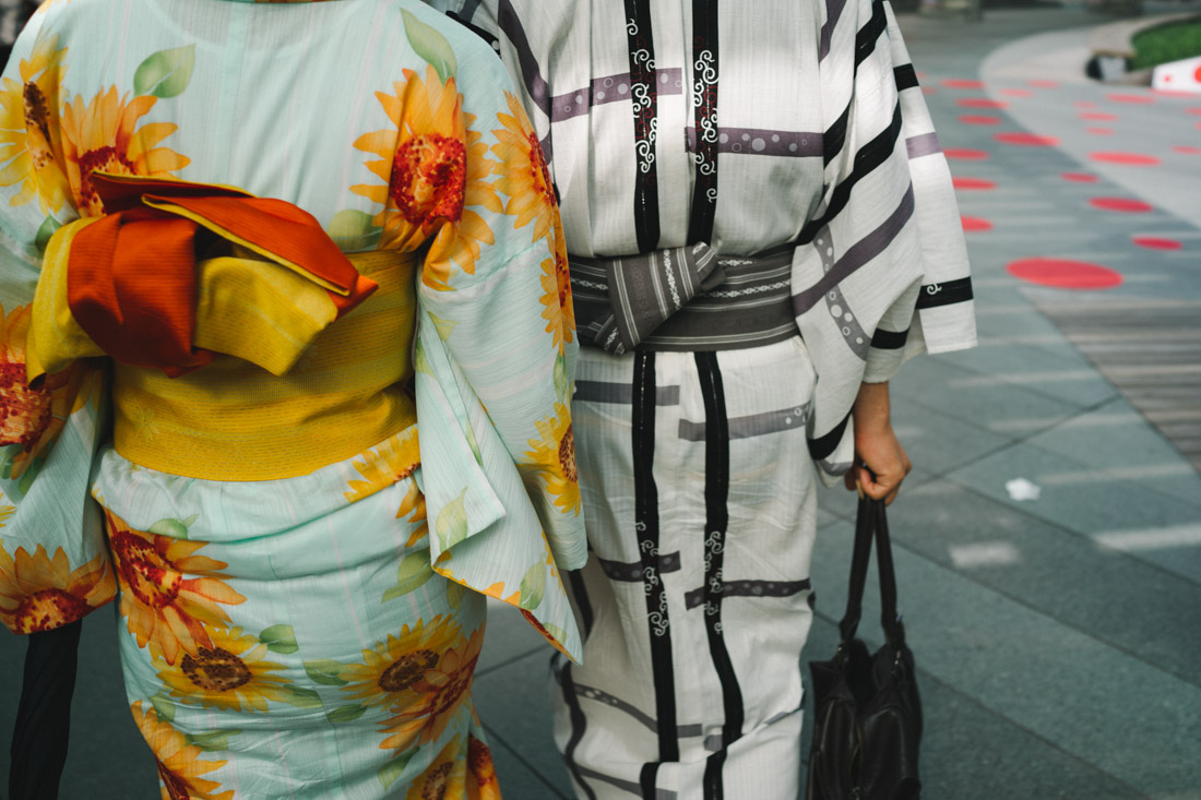 On our way out we kept seeing more and more kimonos — soon we would understand why...