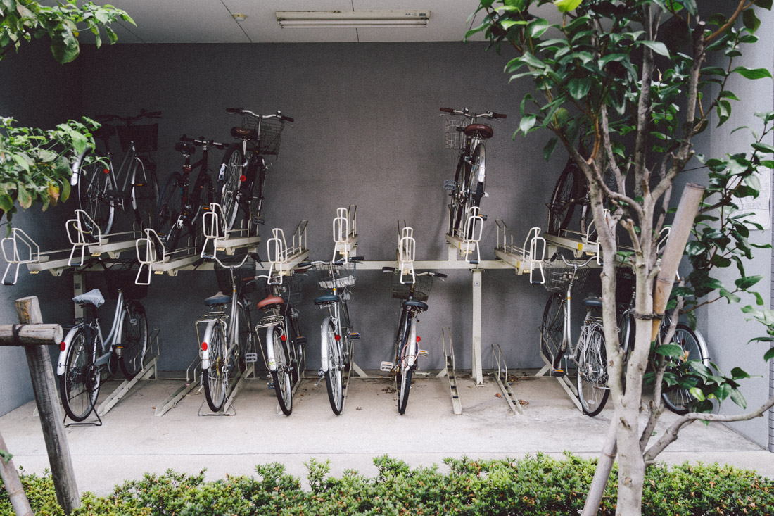Mo' parking space. The Japanese really know how to use height to their advantage.