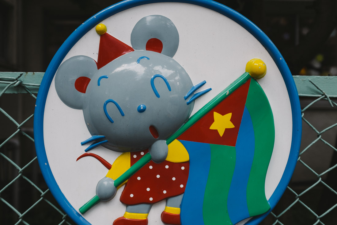One of the mascots of the kindergarden