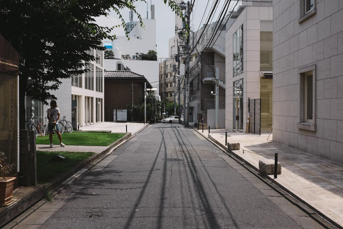 Harajuku can be a very fancy spot