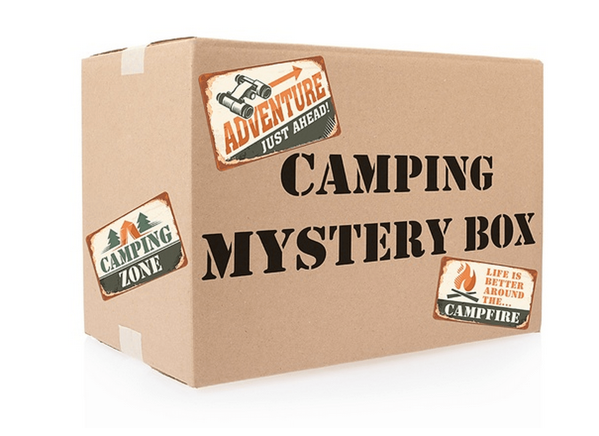 Groupon Mystery Boxes Marvel Camping Fitness My
