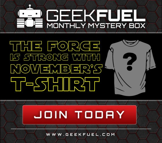Geek Fuel November Spoiler #2 Star Wars