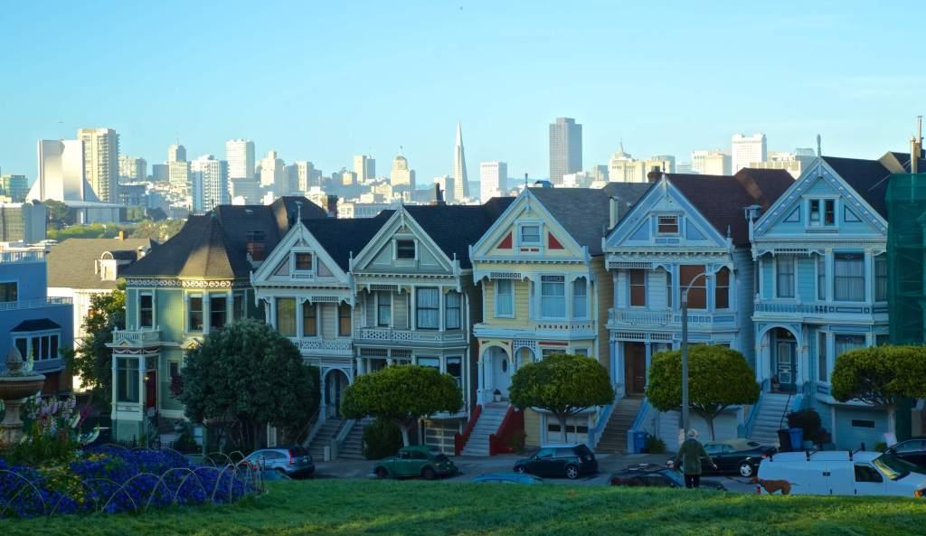 'Painted Ladies', San Francisco  Buy Now