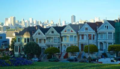 'Painted Ladies', San Francisco      Buy Now
