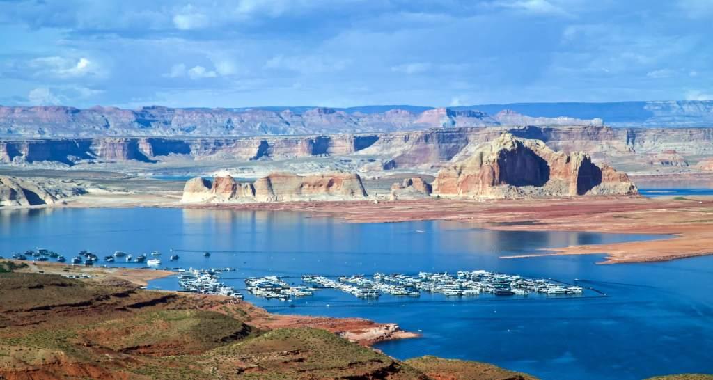 Wahweap Marina, Lake Powell, Arizona  Buy Now