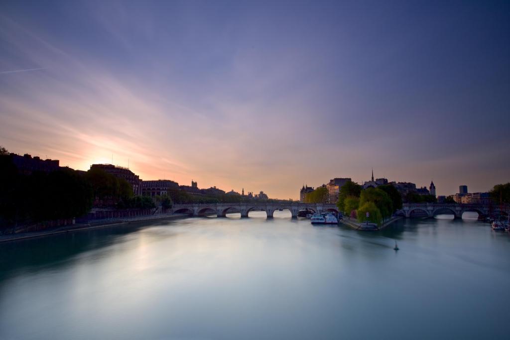 Sunrise over the Seine  Buy Now