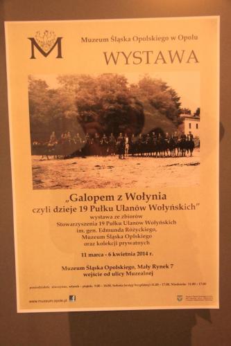 11.03.2014 r. Otwarcie wystawy Ułani z Wołynia 136