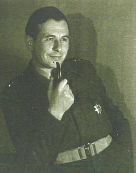 rtm. Tadeusz Bączkowski w 1 Dywizji Panc.gen.Maczka ok