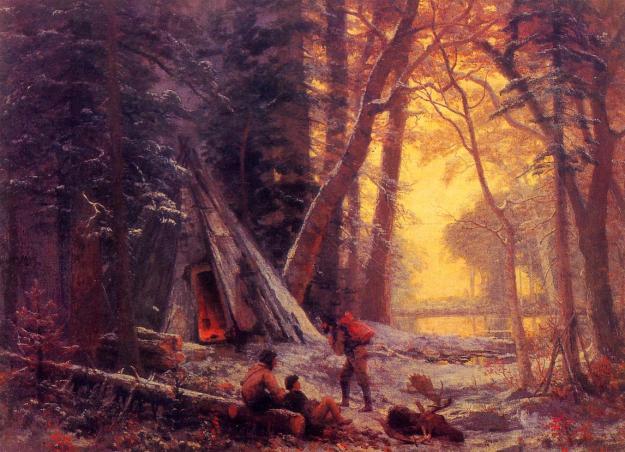 Bierstadt_Albert_Moose_Hunters-_Camp