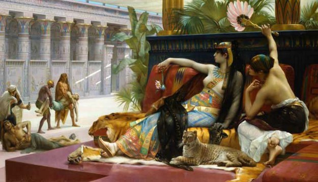 Cabanel, Cleopatra Testing Poison on Condemned Prison