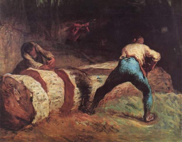 the-wood-sawyers-1852_millet