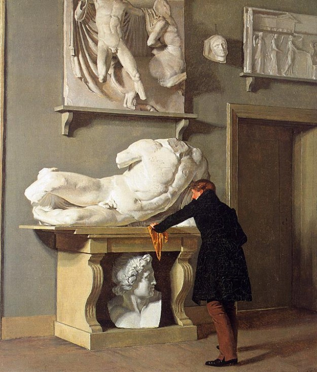 the-view-of-the-plaster-cast-collection-at-charlottenborg-palace-1830-kobke