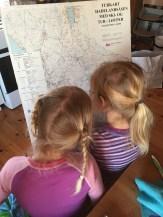 Lese kart og planlegge er viktig