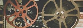 Analoge Filmspulen