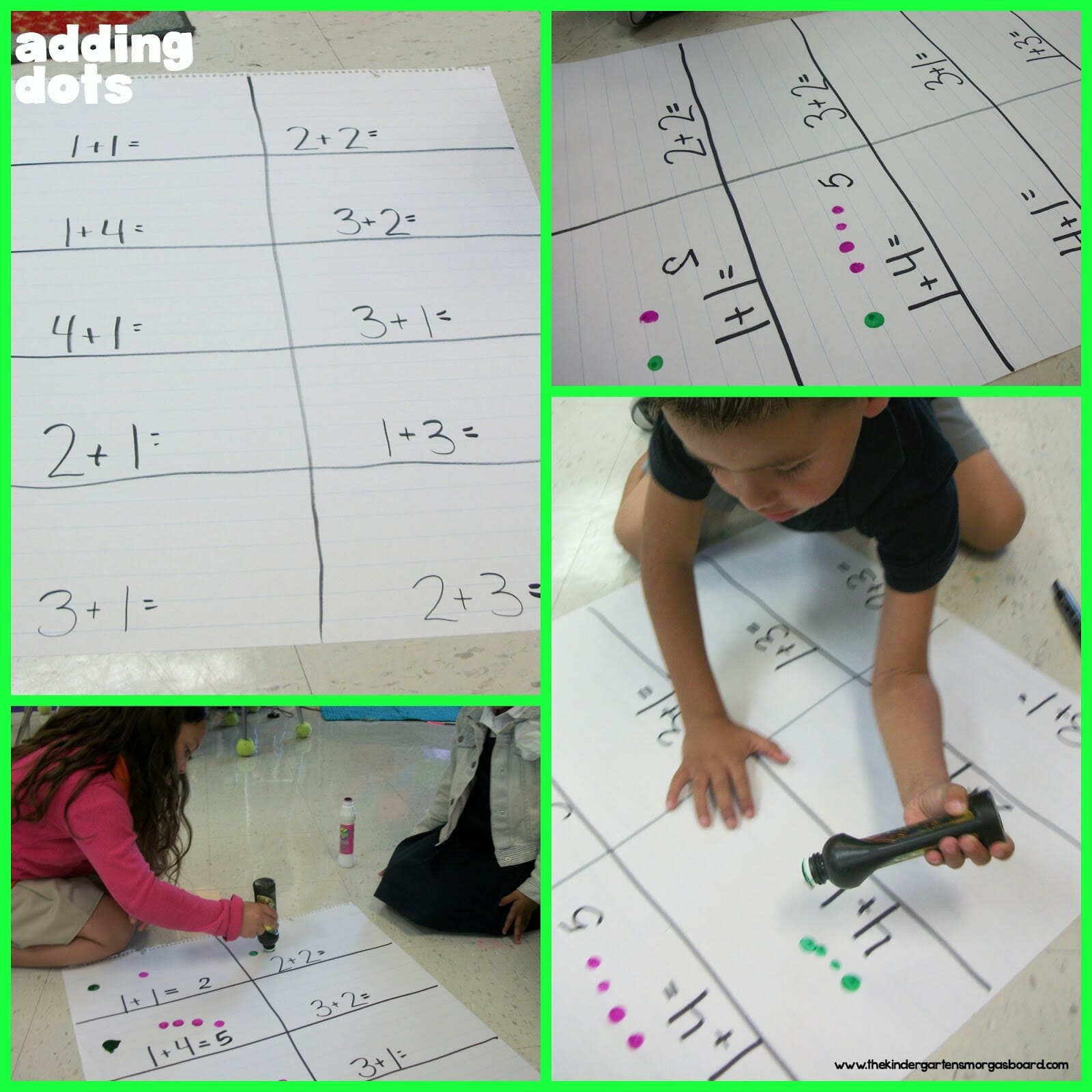 Introduction To Addition The Kindergarten Smorgasboard