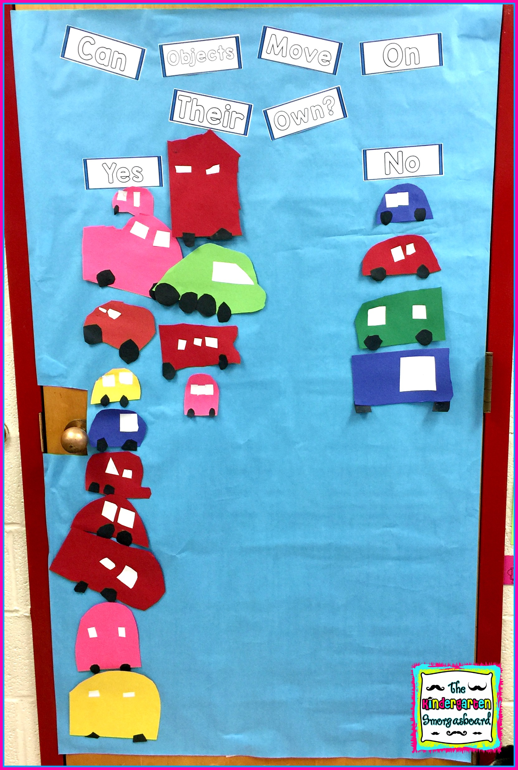 Push And Pull Sort The Kindergarten Smorgasboard