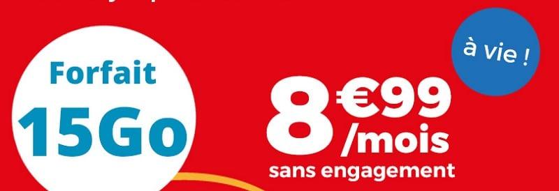 frofait 15go à 8.99 euros