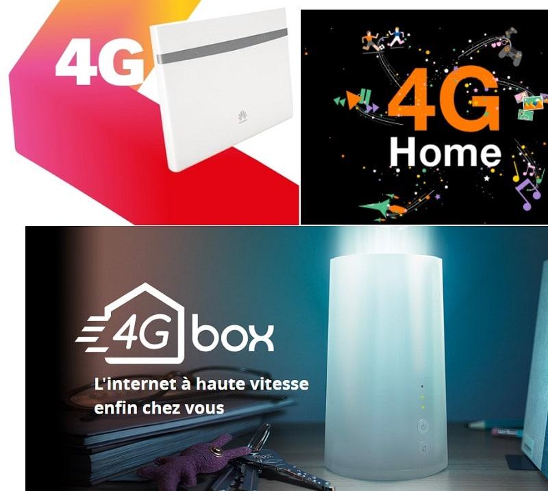 comparatif des box internet 4g