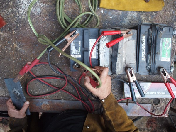 Car-Battery Welding   Make: DIY Projects, How-Tos ...