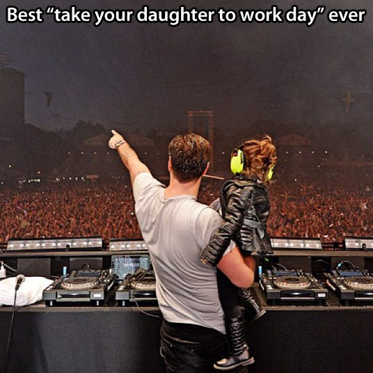 Take your daughter to work