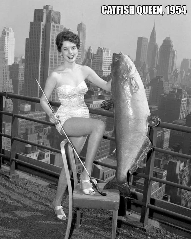 Miss Catfish 1954