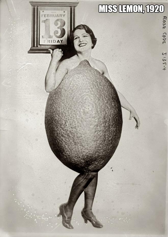 Miss Lemon, 1920