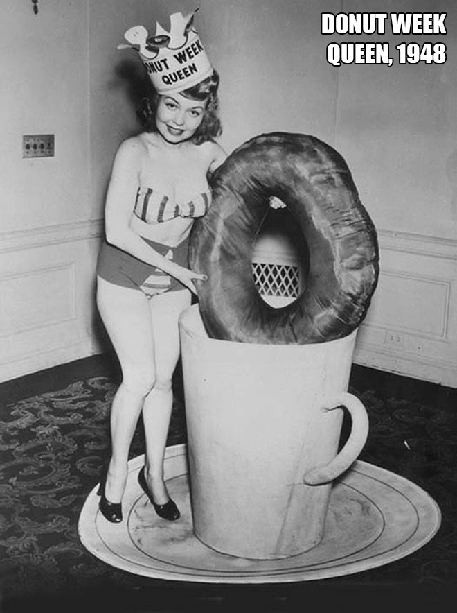 Miss Donut Week, 1948