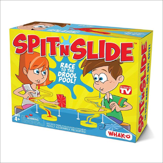 Spit n' Slide.