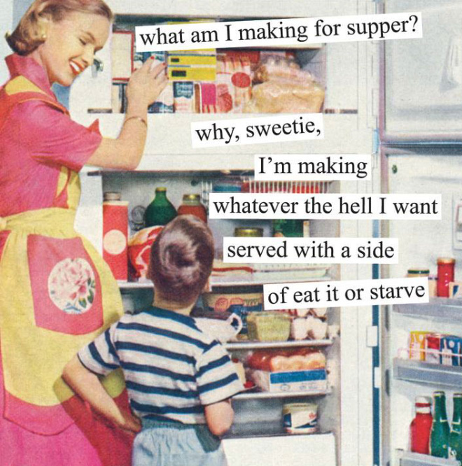 What's for supper?