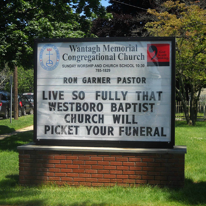 Awesome church sign.