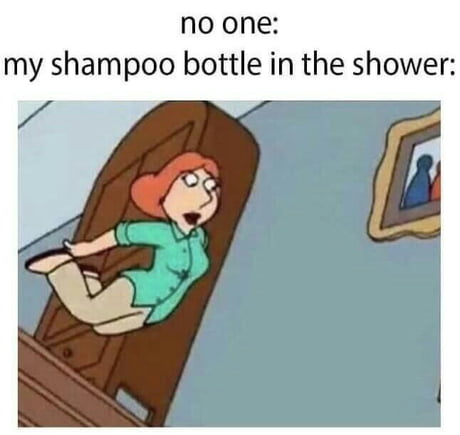 Those mad shampoo bottles