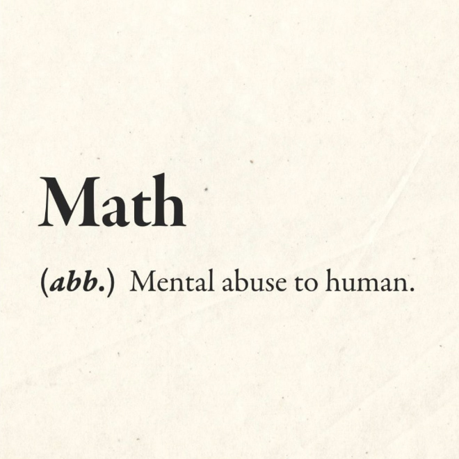 The real definition.