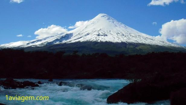 Vulcão no Chile